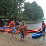 sacensības ar kanoe laivām