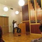 Dace ar skolotāju Jacintu koncertā