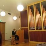 Festivāla jaunākais dalībnieks - 9 gadīgais Utenas mūzikas skolas audzēknis