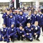 Daugavpils BFC komanda  1.rindā otrais no kreisās - Vladislavs, 2.rindā pirmais - Juliāns